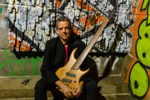 Jon Burr with the Dingwall VooDoo Bass