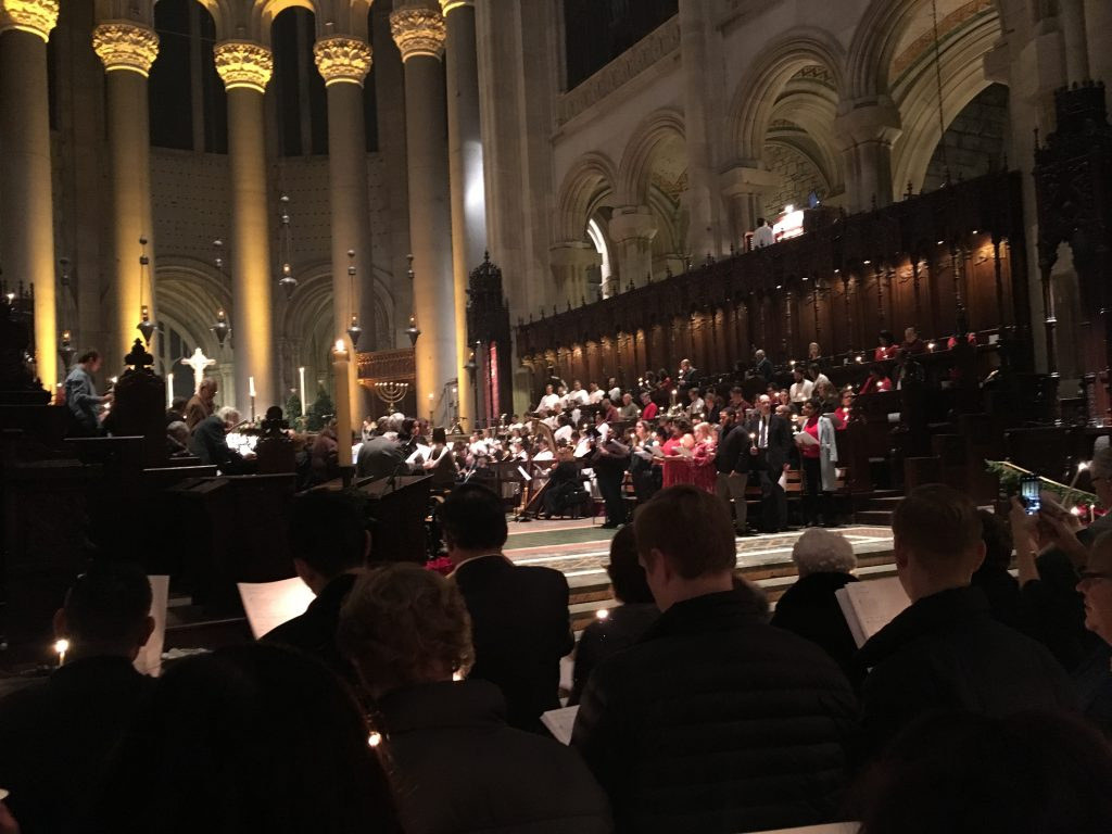 Christmas at St John the Divine, NYC