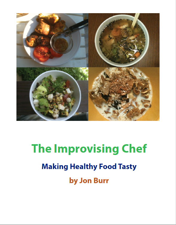 The Improvising Chef Cover
