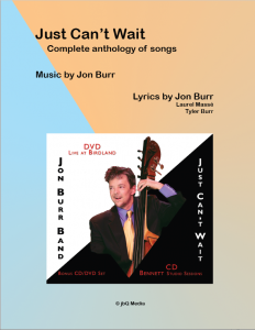 Jon Burr's Songs – Sheet Music